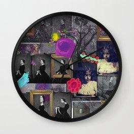Mirror Room Wall Clock