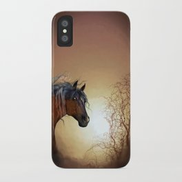 HORSE - Misty iPhone Case