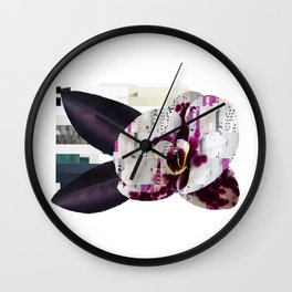 Computational Orchid Wall Clock