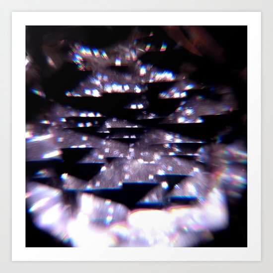 Diffraction Art Print
