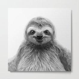 Young Sloth Metal Print