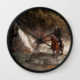 Morning Hunt Wall Clock