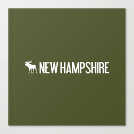 New Hampshire Moose Canvas Print