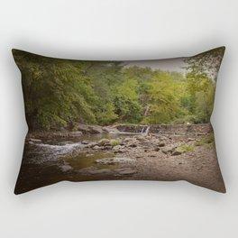Stormy Waterfall Rectangular Pillow