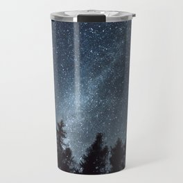 Milky Way in the Woods   Nature and Landscape Photography Travel Mug