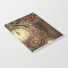 Steampunk, clockwork Notebook