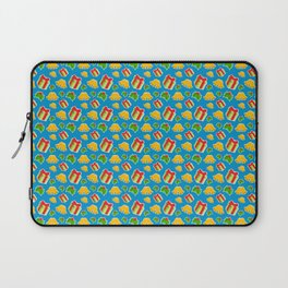 Christmas Presents In The Mist Of Mistletoe And Bells Decor Laptop Sleeve