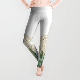 CACTUS MANDALA Leggings