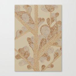 earthy swirls Canvas Print