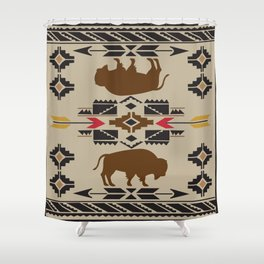 American Native Pattern No. 180 Shower Curtain