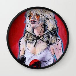 Debbie Harry Cheetara - Rip Her to Shreds Wall Clock