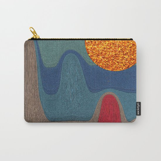 LANDSCAPE WITH SHINING SUN Carry-All Pouch