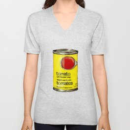 No Name Brand Tomato Soup Unisex V-Neck