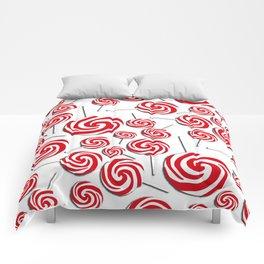 Candy Swirls-Large Comforters