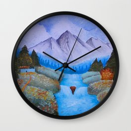 The Brilliance and Beauty of Contradiction Wall Clock