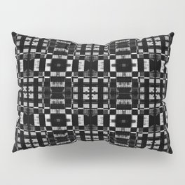 Graphite Milk Crate Razor Blades Pillow Sham