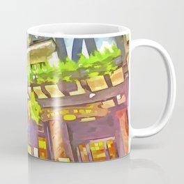 English Pub Pop Art Coffee Mug