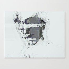 summer glitch Canvas Print