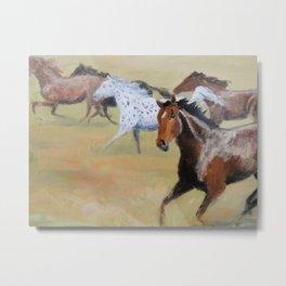 Free Spirit of the Horse Metal Print
