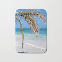Landscape   Palm and Beach   Life's a Beach!   Nadia Bonello Bath Mat