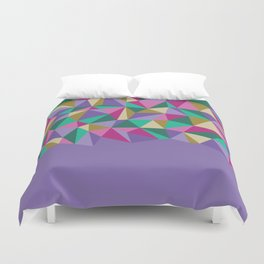 Bright Angles II Duvet Cover