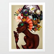Junk Pile Art Print