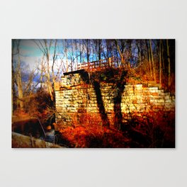 Slaughter Road 4 Canvas Print