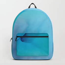 The Tide Fluid Ink Abstract Art Backpack