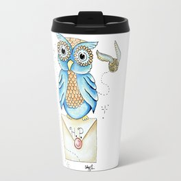 Harry Potter - Hedwig Owl and Golden Snitch Travel Mug