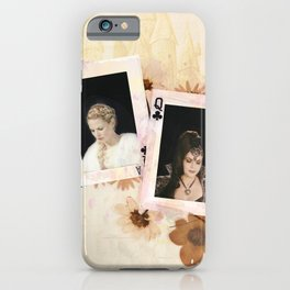 swan queen: enchanted forest iPhone Case