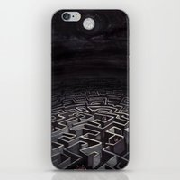 labyrinth iPhone & iPod Skins featuring Labyrinth by Richard J. Bailey