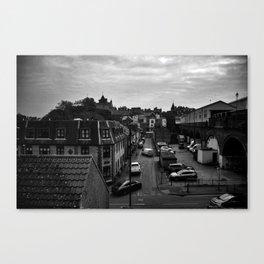 Corner street London, England Canvas Print