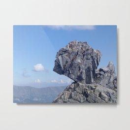square rock Metal Print