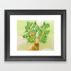 Have you finish your christmas tree yet? Framed Art Print