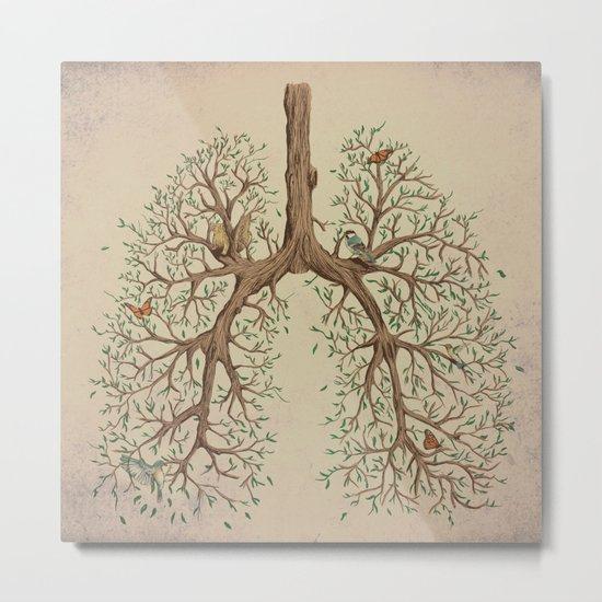 Breathe! Metal Print