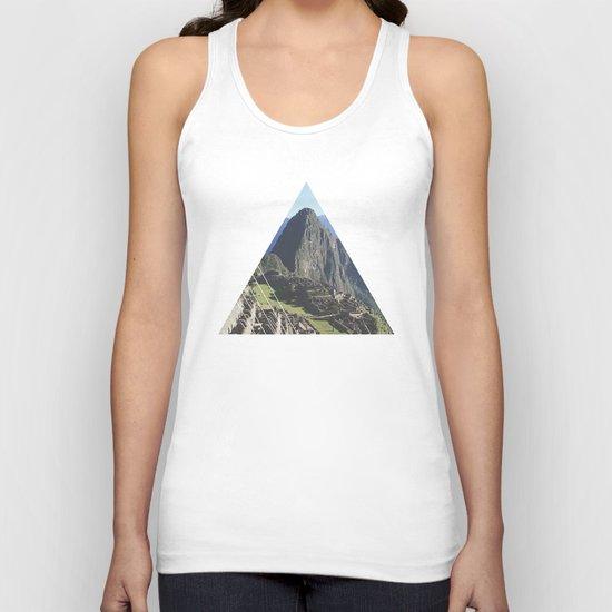 Machu Picchu - Geometric Photography Unisex Tank Top