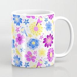 Birds and Flowers Coffee Mug