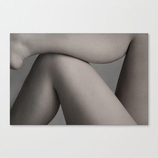 skin layout Canvas Print