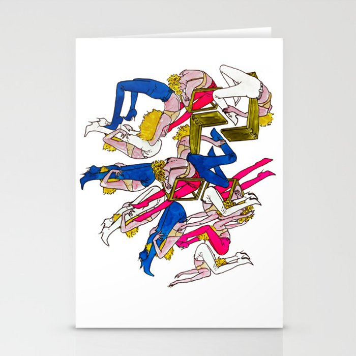 rock rests. Stationery Cards