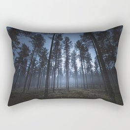I still can hear you breathe Rectangular Pillow