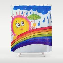 Shine after Raining Shower Curtain