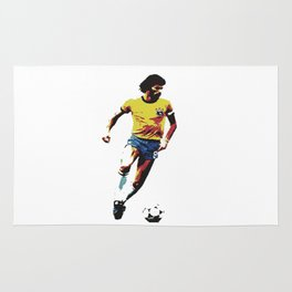 Socrates, Brazilian soccer superman Rug