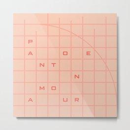 pantone amour Metal Print