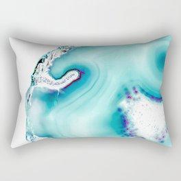 Agate - marine Rectangular Pillow