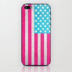 USA Flag iPhone & iPod Skin