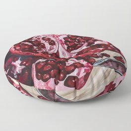 """""""Don't take my love for Pomegranate"""" Floor Pillow"""
