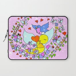 """""""Courage And More"""" Laptop Sleeve"""