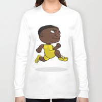 runner Long Sleeve T-shirts featuring Runner by Jordygraph