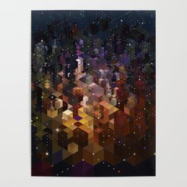 City of Lights Poster