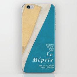 Contempt, Le Mépris, Jean-Luc Godard, Fritz Lang, Brigitte Bardot, french film, new wave, vague iPhone Skin